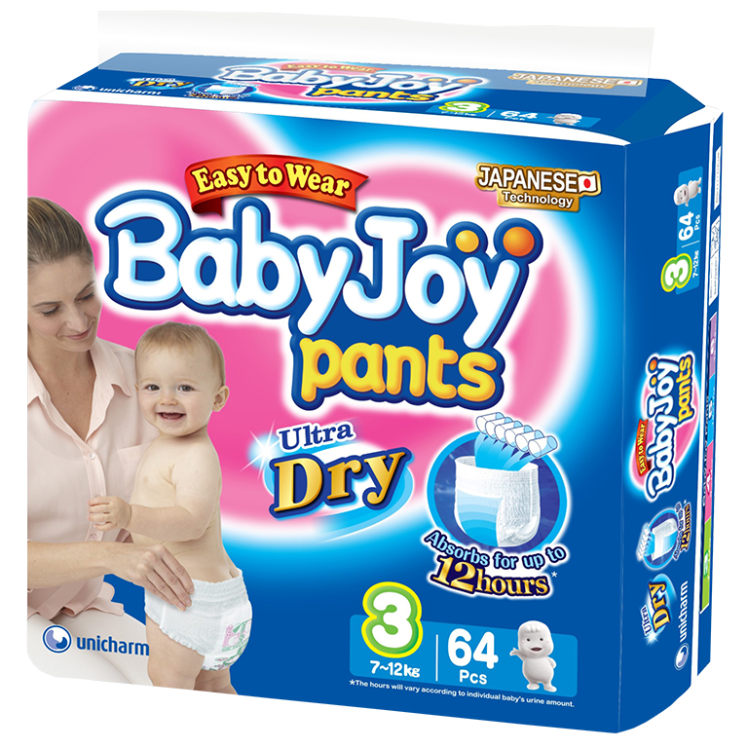 BabyJoy Pants Diaper / M